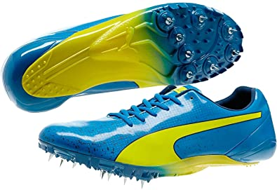 5afd3ddc72b250 Puma Bolt Evospeed Electric V2 Running Spikes - Blue-8.5  Amazon.co ...