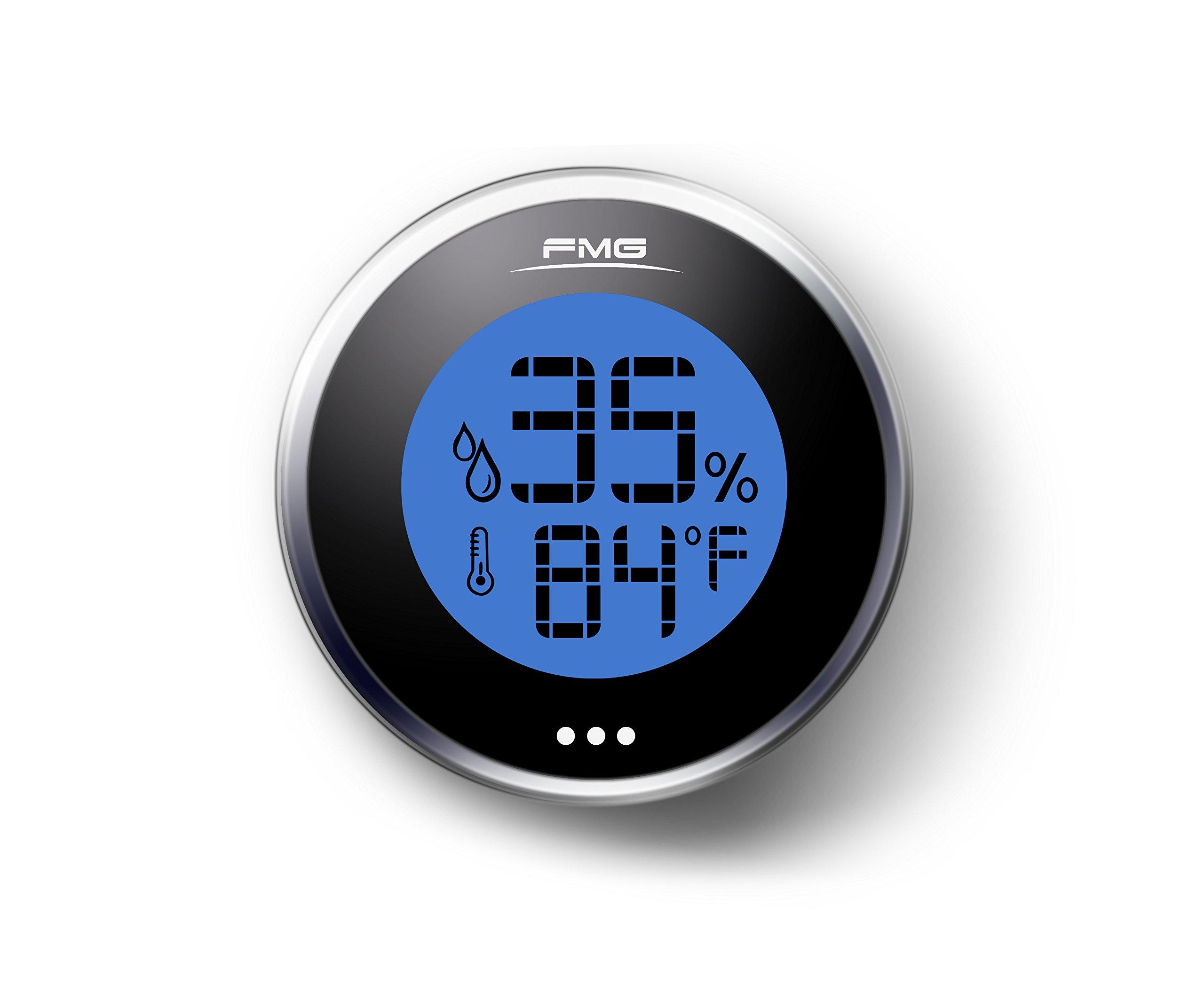Hygrometer Humidity Meter Digital Gauge Thermometer Monitor Sensor Indoor Outdoor