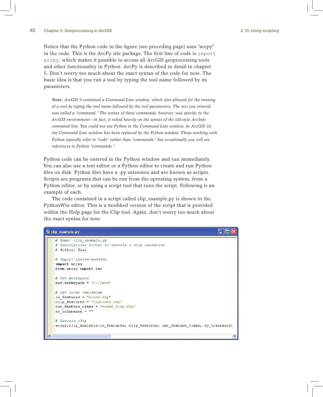 Python Scripting for ArcGIS: Amazon co uk: Paul A