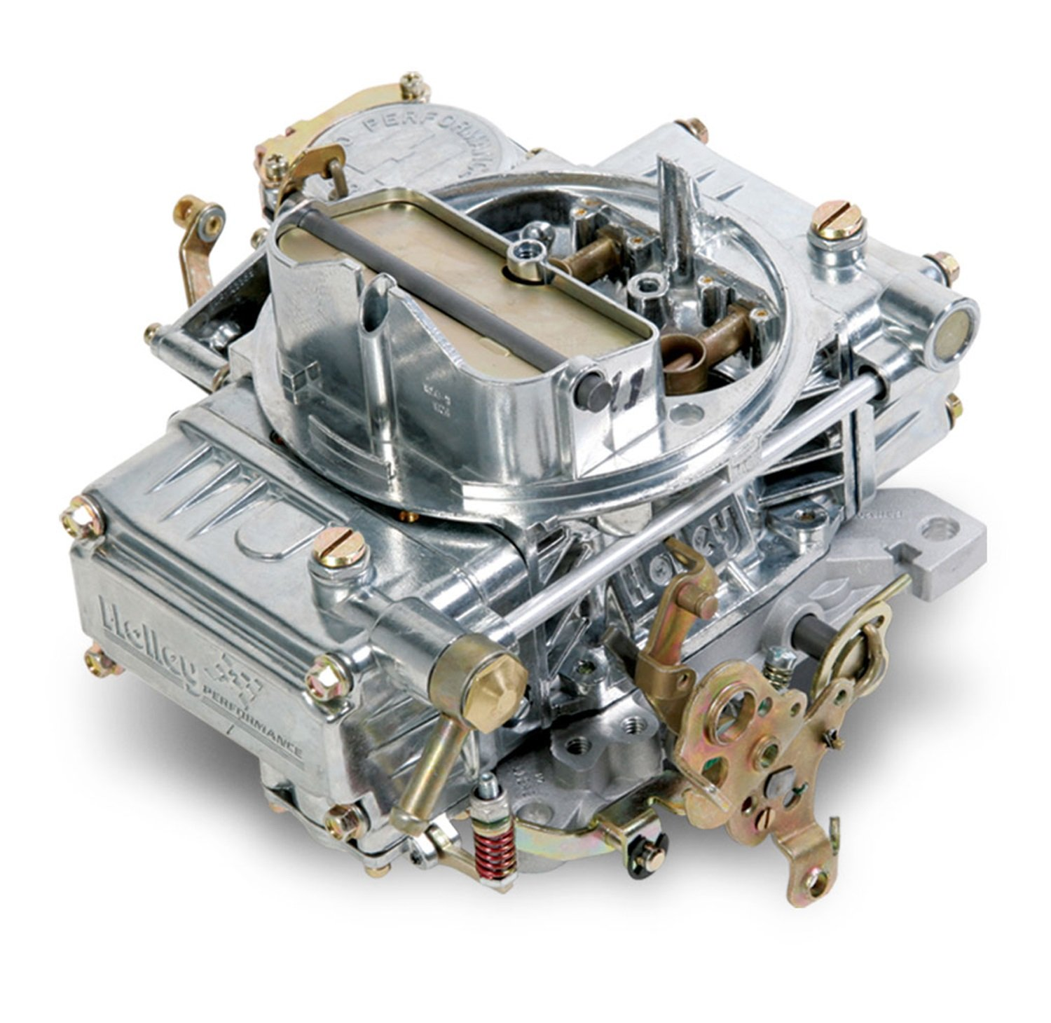 Holley 0-1850sa Aluminum 600 CFM Four-Barrel Street Carburetor