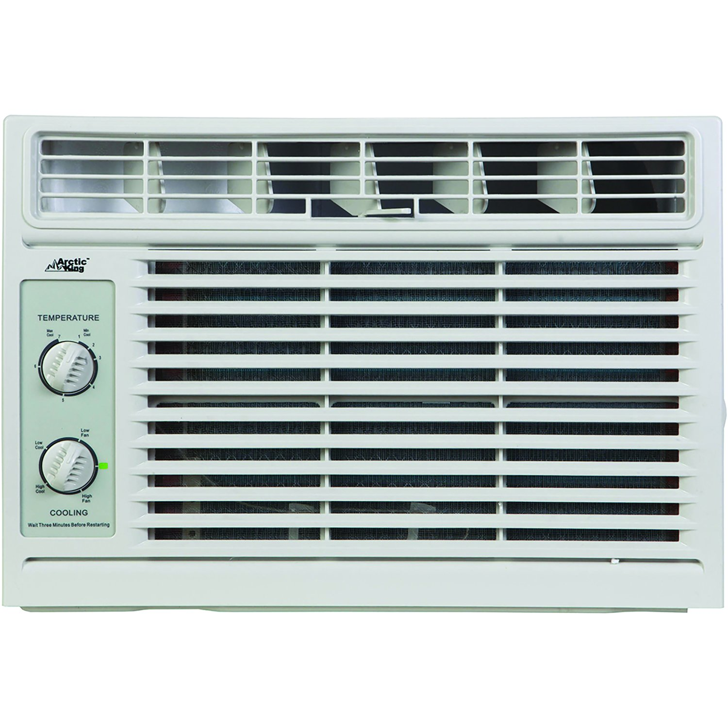 ARCTIC Wind King 5,000 BTU Window Air Conditioner with Mechanical Controls Midea AKW05CM71-A