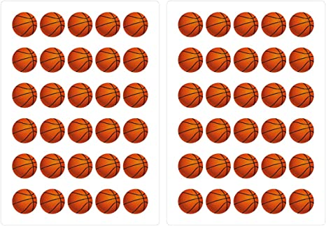 dekodino® Pegatina de pared balones de baloncesto juego de ...