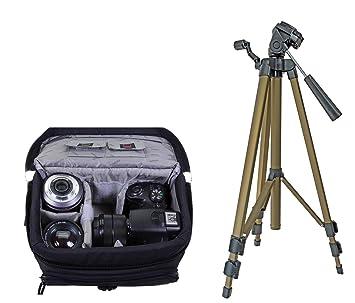 Cámara fotográfica Universal Set Black M en Bolsa con ...