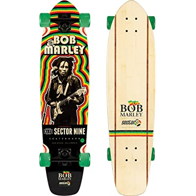 Sector 9 Trenchtown Rock Cruiser Complete Sz 34 x 8.7in : Sports & Outdoors