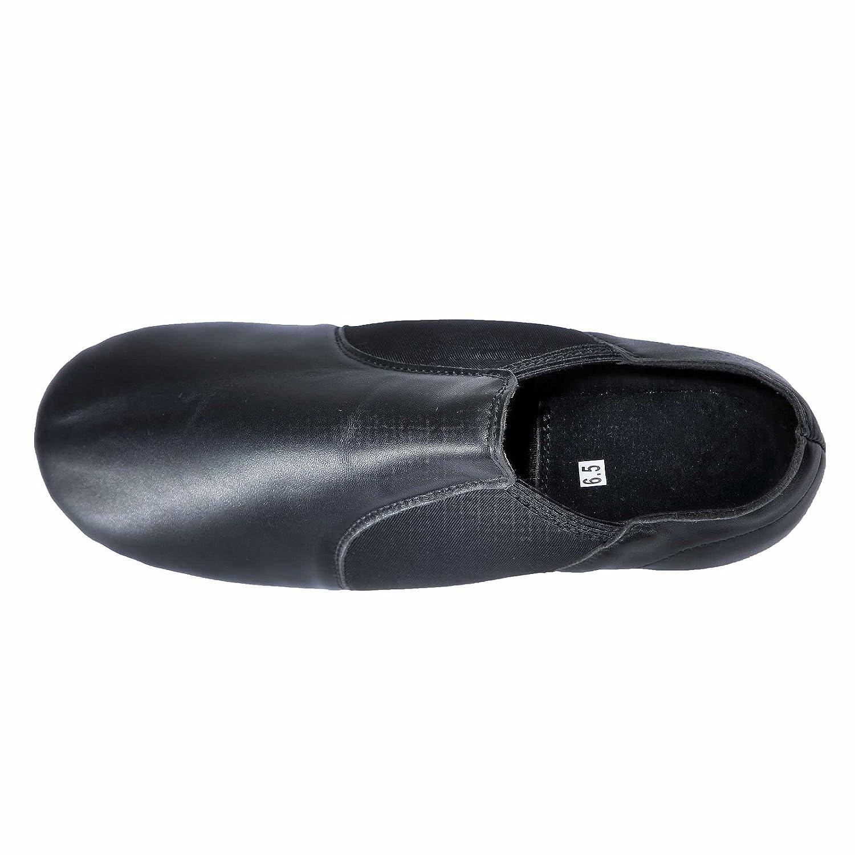 Dynadans Leather Upper Slip-on Jazz Shoe Big Kid//Little Kid//Toddler
