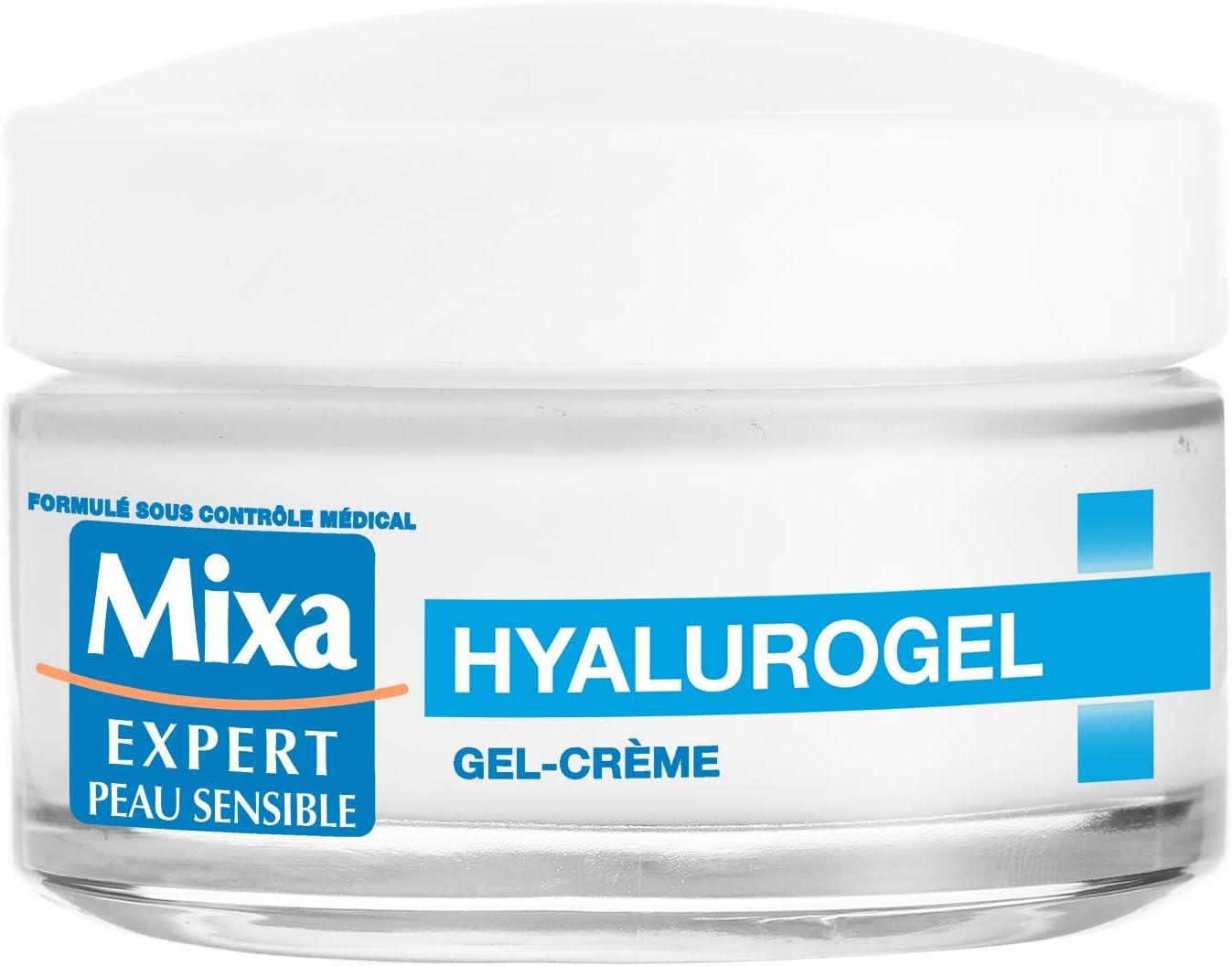 Mixa Expert Peau Sensible - Hyalurogel - Gel-Crème Hydratant Intensif 24H - 50 ml