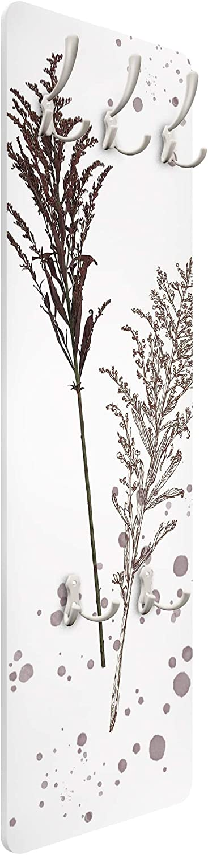 Botanical Watercolor Fescue Reed 139 x 46cm Bilderwelten Perchero Gancho De Pared