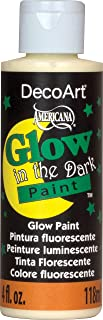 product image for DecoArt DS50-10 Glow-in-The-Dark Paint, 4-Ounce