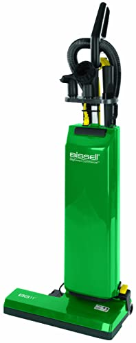 BISSELL BigGreen Commercial Bagged Upright Vacuum, 5.83L Bag Capacity, 18 Cleaning Path, Green