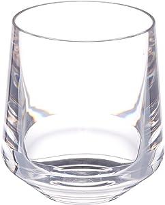 Drinique Stemless Unbreakable Tritan Wine Glasses, 12 oz (Set of 4), Clear