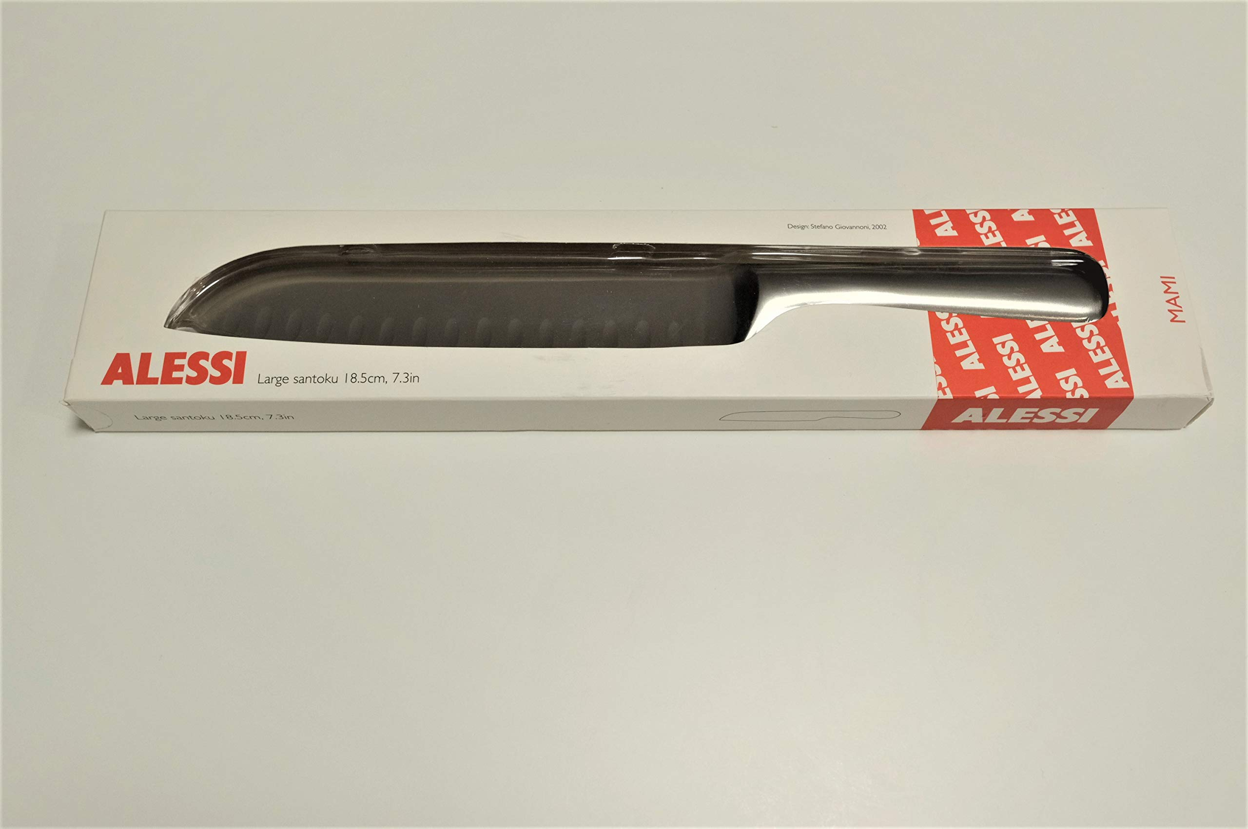 Alessi MAMI Large Santoku Knife 18.5 cm, 7.3 inches by Alessi