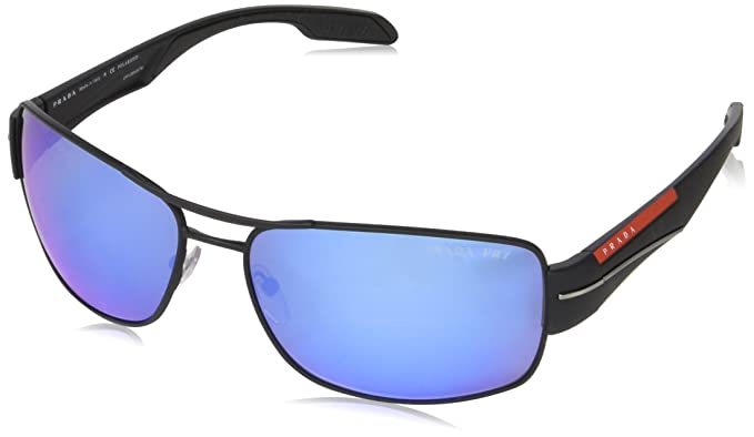 6fc42712aa9 Image Unavailable. Image not available for. Colour  PRADA SPORT Men s  0PS53NS DG02E0 65 Sunglasses ...