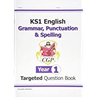 KS1 English Targeted Question Book: Grammar, Punctuation & Spelling - Year 1 (CGP KS1 English)