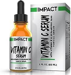 Sérum de Vitamina C Cuidado de la Piel Profesional – Ayuda a Reparar los Daños por