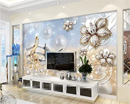 Wapel 3d wallpaper murals home decorative mural living room tv background sound paint bead stereo wallpaper