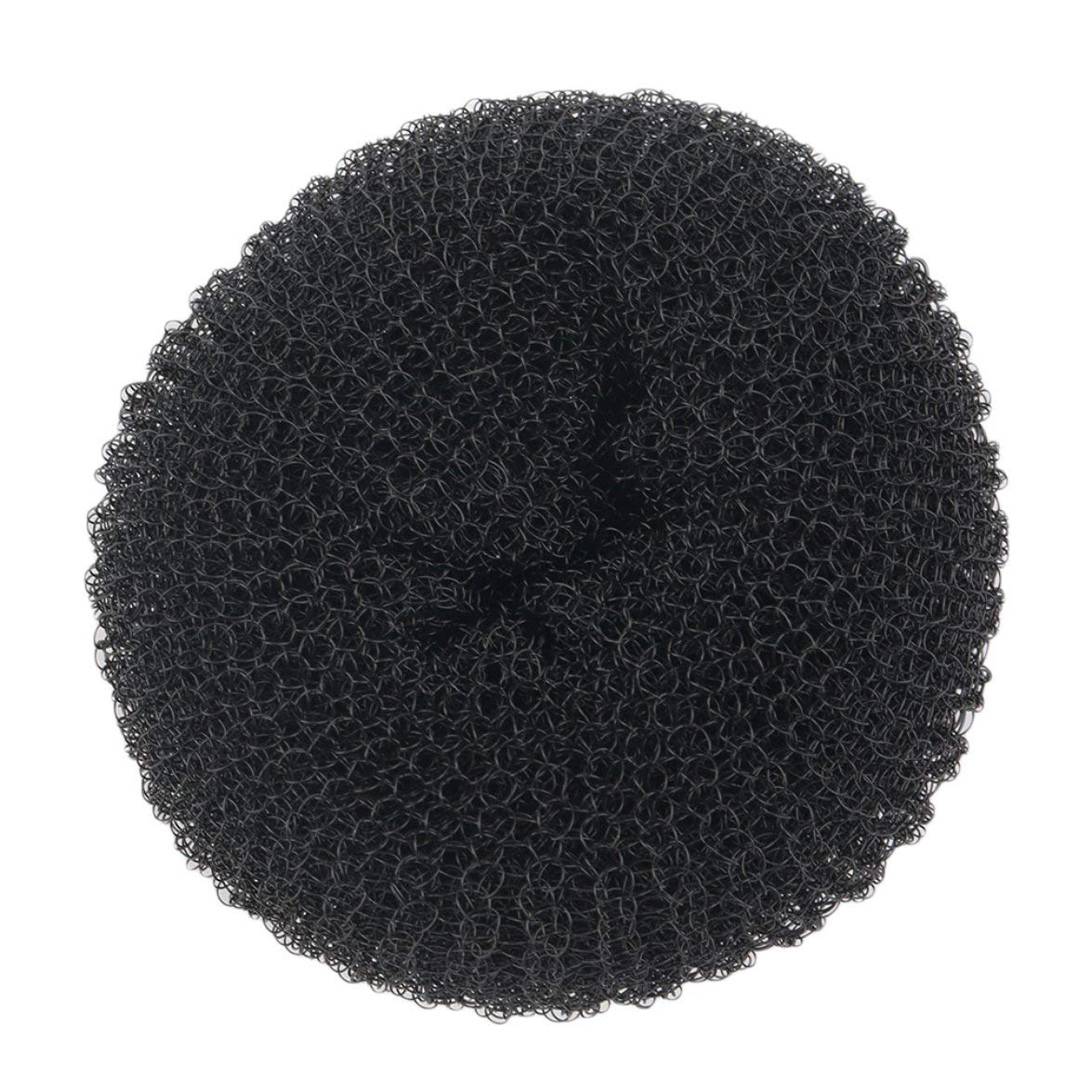 Kongqiabona Women Girls Sponge Hair Bun Maker Ring Donut Shape Hairband Styler Tool Magic Hair Styling Bun Maker Hair Band Accessories