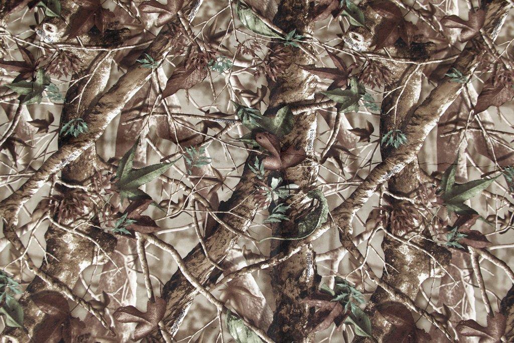 Telo in neoprene camuffamento Design foglia. Dimensioni: 128 x 79 cm. 1metro quadro. wildlifephotographyshop
