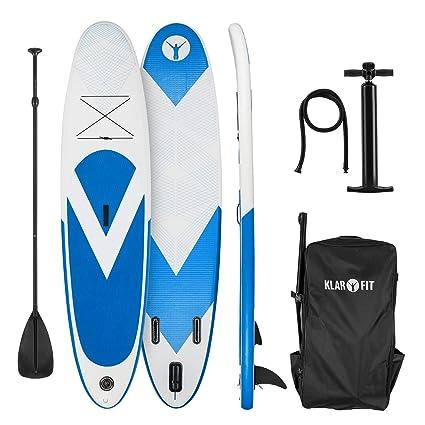 Klarfit Spree Star • Standup Paddle Board • Remo Tarjeta • Sup • Hinchable • 300 x 10 x 71 o 320 x 12 x 81 o 325 x 15 x 86 cm • Bomba de Aire • ...
