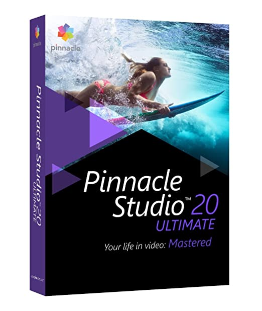 137 opinioni per NUOVO COREL PNST20ULMLEU PINNACLESTUDIO 20 ULTIMATE ML PINNACLE STUDIO 20