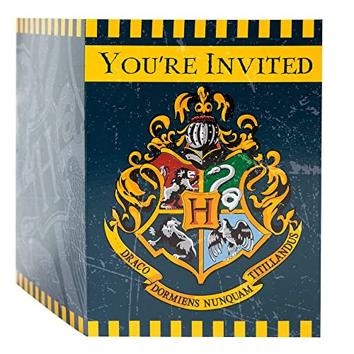 Harry Potter Party Invitations 8Ct