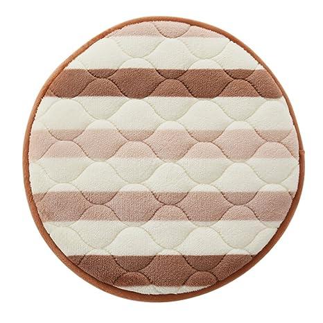 Amazon Com J Ddsuk Round Chair Cushions Covered Booster Cushion