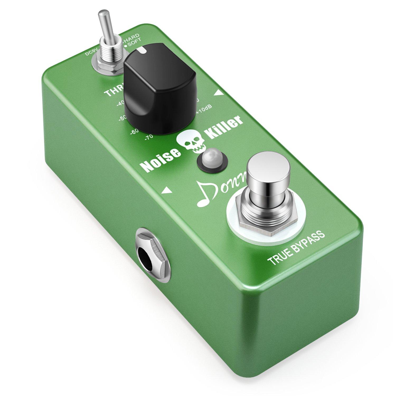 Donner Noise Killer Guitar Effect Pedal Noise Gate Pedal 2 Modes by Donner
