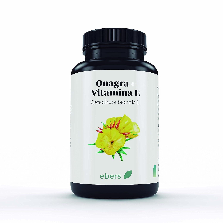 Ebers Onagra y Vitamina E - 100 Cápsulas: Amazon.es: Salud y ...