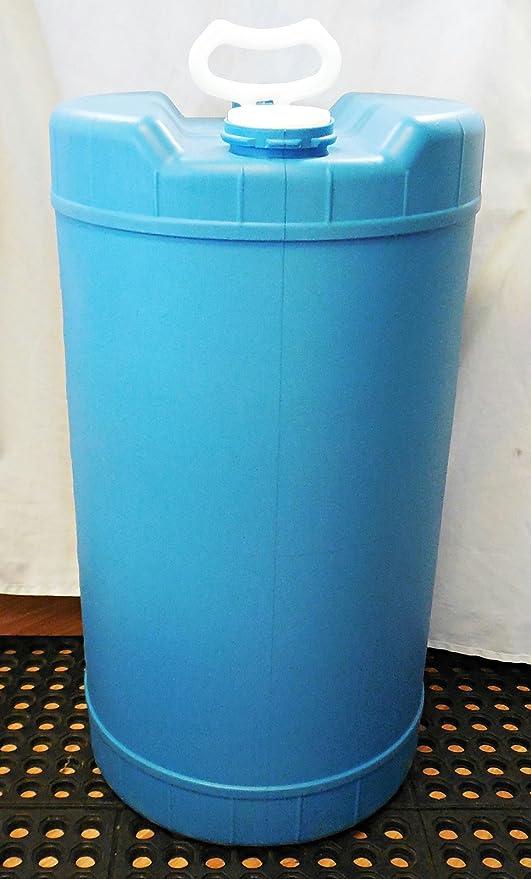 amazon com 15 gallon water storage barrel emergency preparedness