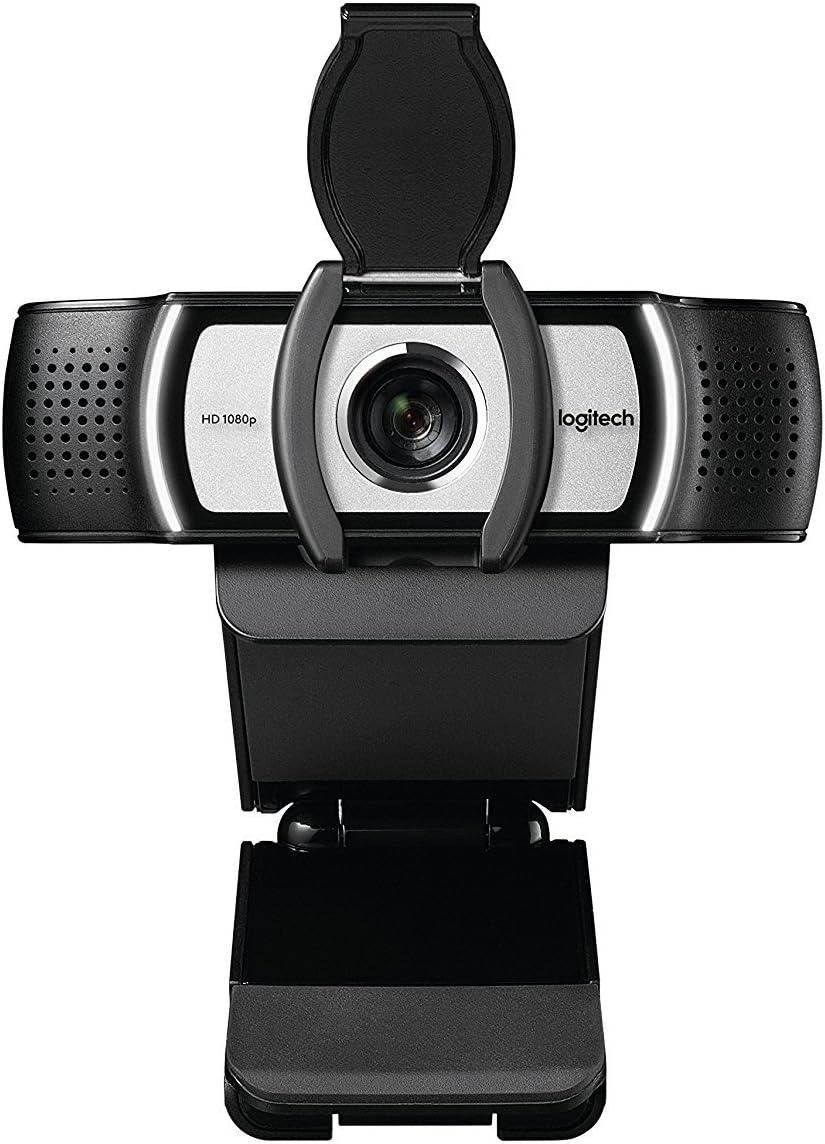 Logitech 960-000971 C930e USB Desktop or Laptop Webcam, HD 1080p Camera