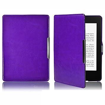 Gosear PU Cuero Ebook Reader Protector Funda para Amazon Kindle ...