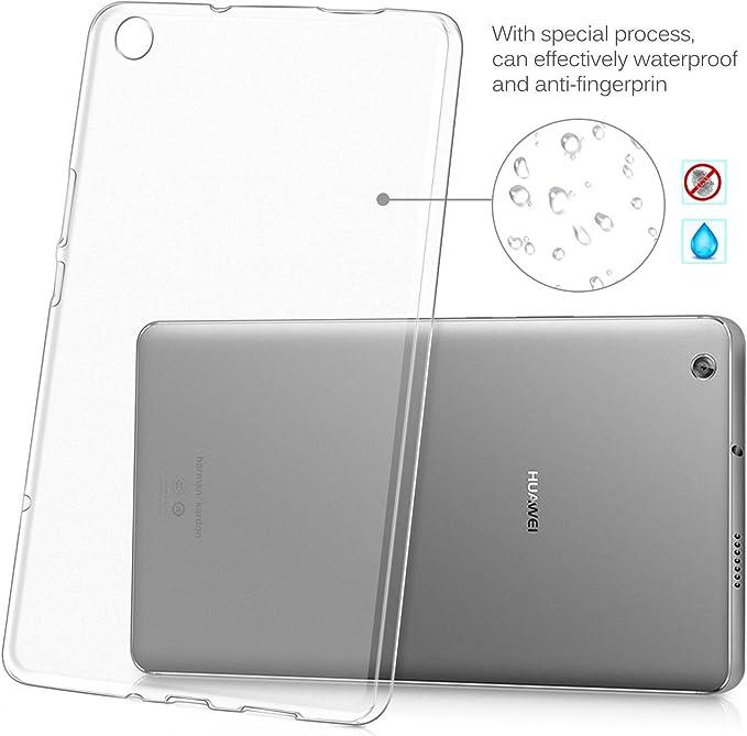 /Écran 10 Transparent TPU+ 9H Protection d/écran Huawei MediaPad M5 Lite 10 Pouce SOCINY 2 in 1 Pack
