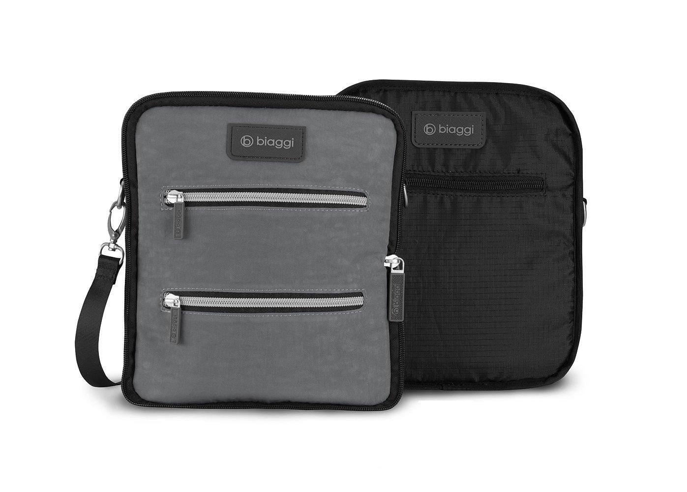 Biaggi Luggage Flippables Reversible Cross Body Bag by Biaggi Luggage
