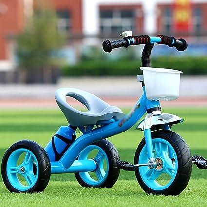 Sheng Triciclo de Pedales para niños luz Simple niño niña bebé ...