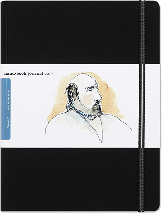 Travelogue Drawing Book Grand Portrait 10 1 2 X 8 1 4 Ivory Black Artist Journal Arts Crafts Sewing