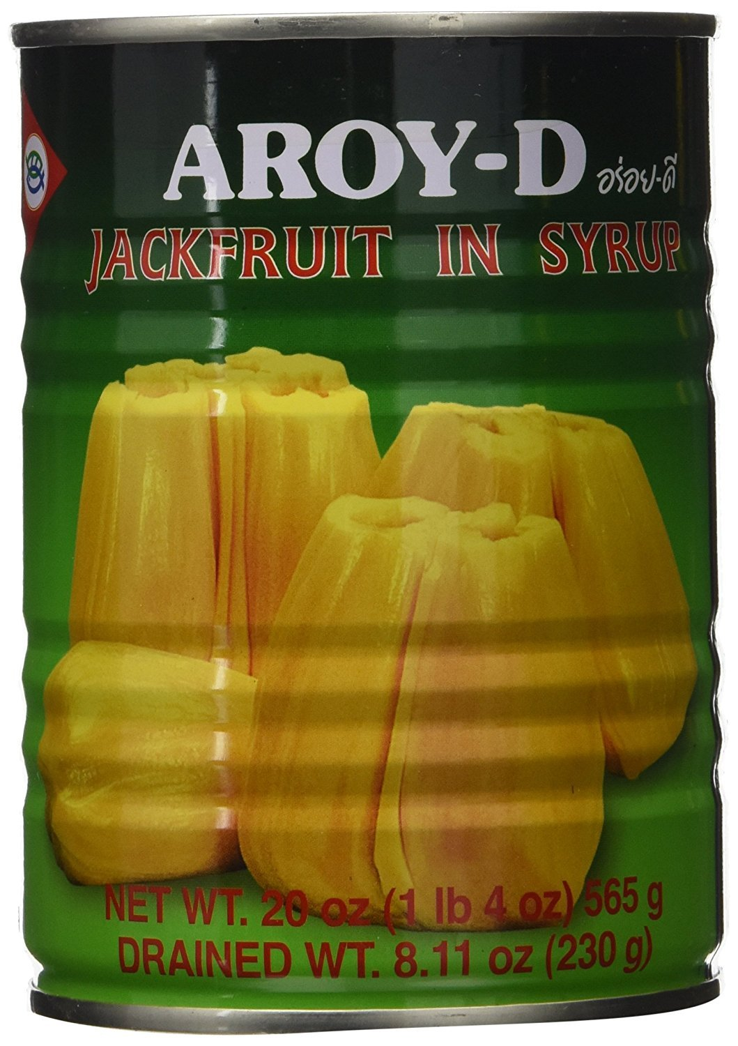 Aroy-D Jackfruit in Syrup, 20 Ounce (Pack of 6) by Aroy-D