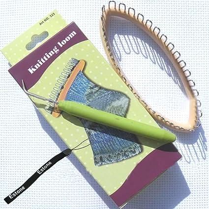 Amazon Estone New 32 Peg 55x22 Knitting Loom Craft Diy Tool
