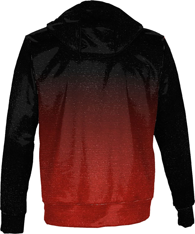 School Spirit Sweatshirt ProSphere Southern Illinois University Edwardsville Mens Pullover Hoodie Ombre