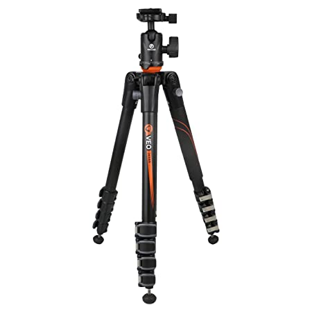 Vanguard Aluminium Tripod VEO 265 AB With Ball Head Complete Tripod Units at amazon