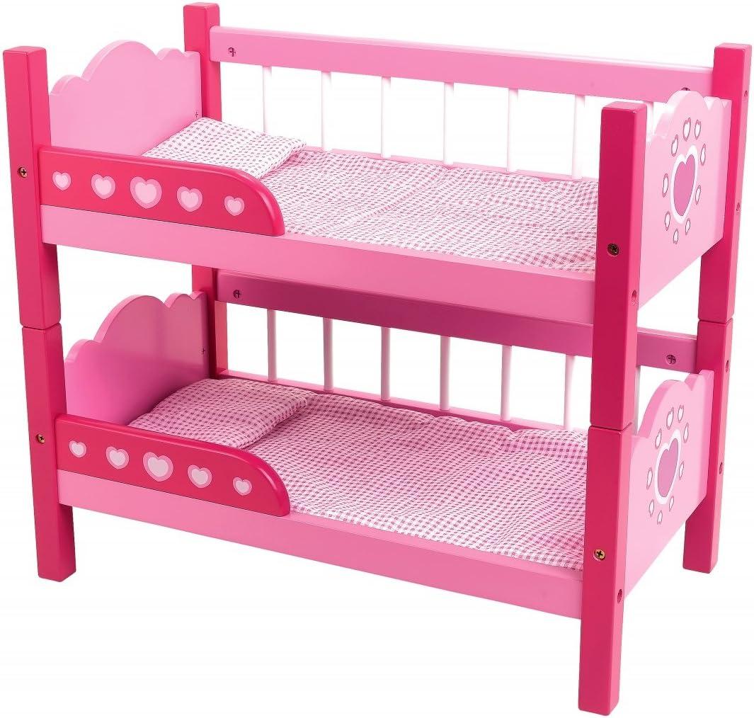 Amazon Com Dolls World Bunk Beds Toys Games