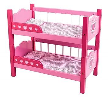 Dolls World Bunk Beds Amazon Co Uk Toys Games
