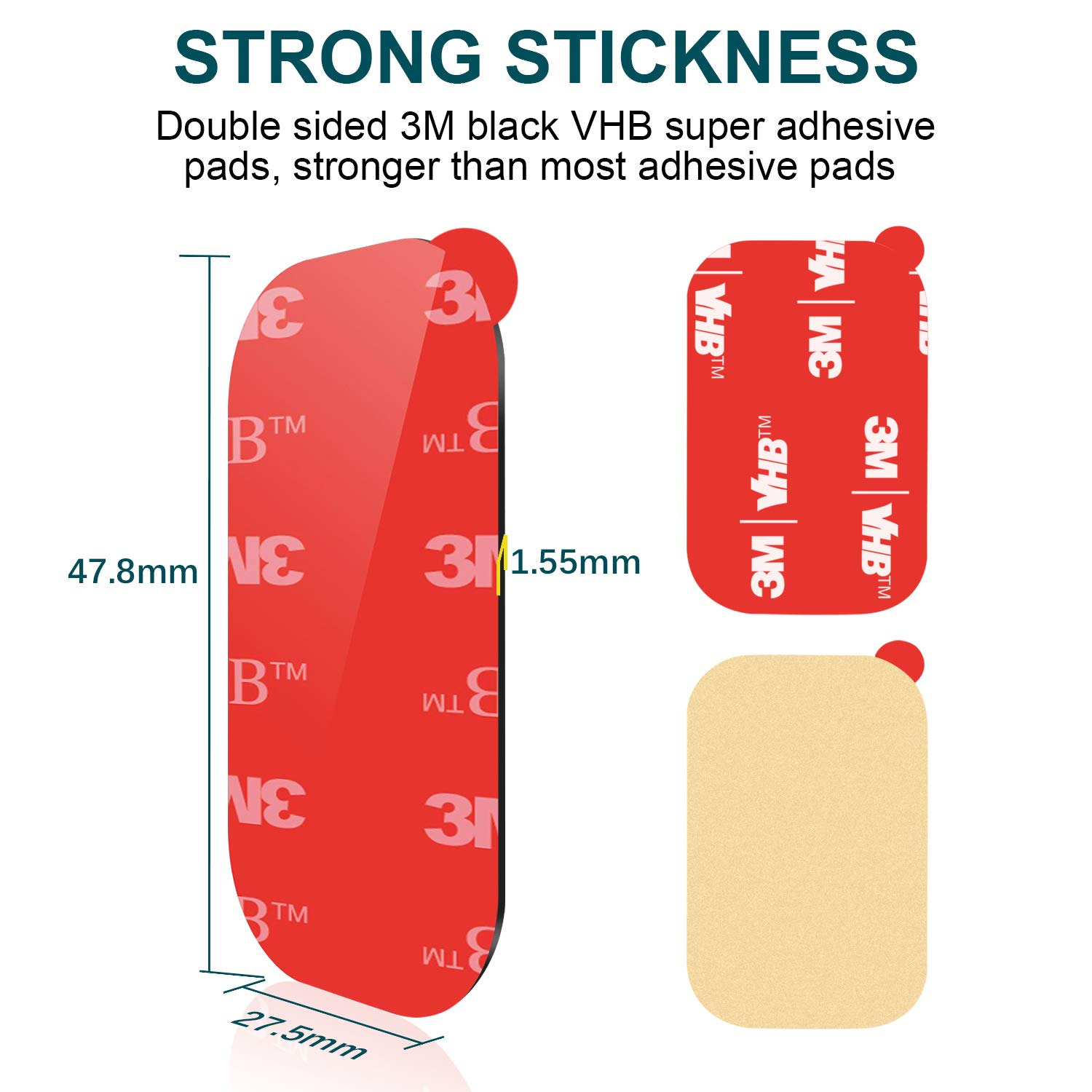 Amazoncom 3m Sticky Adhesive Replacement Apps2car Dashboard Vhb