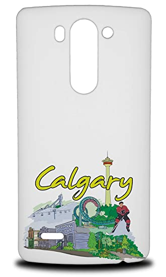 finest selection 812a8 e5f1d Amazon.com: Calgary Canada Hard Phone Case Cover for LG G3 S: Cell ...