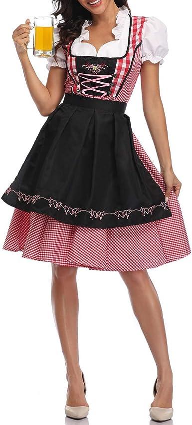 OKTOBERFEST FRAULEIN PLUS SIZE FANCY DRESS COSTUME ADULT LADIES BAVARIAN GERMAN