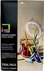 10-Pack UART Sanded Pastel Paper M-160274 12-Inch//18-Inch No.280 Grade Paper