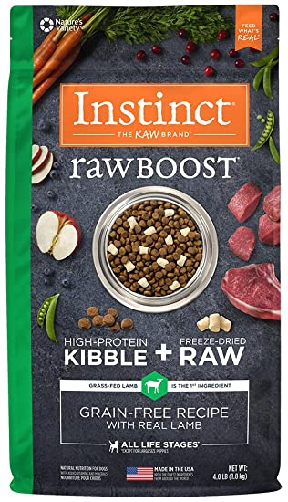 Amazon instinct raw boost grain free recipe with real lamb instinct raw boost grain free recipe with real lamb natural dry dog food by natures variety forumfinder Image collections
