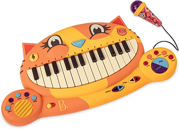 B. toys – Meowsic Toy Piano – Children'S Keyboard Piano