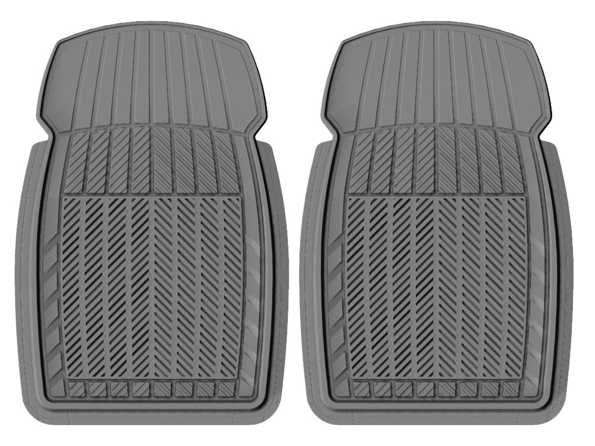 PantsSaver Eco Compact 4 Piece All Weather Car Mat Set Gray 18710