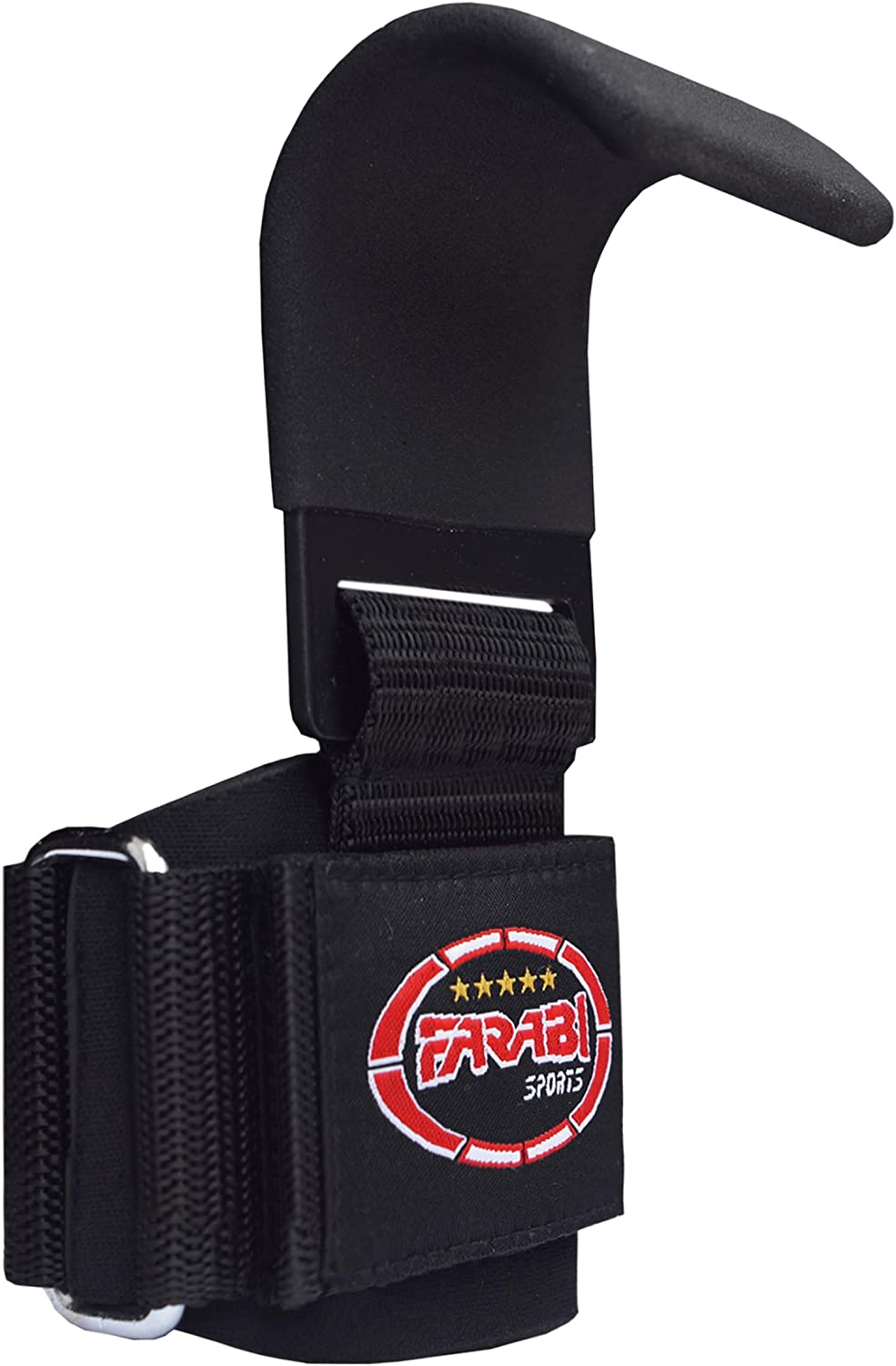 Farabi Wrist Support Wraps Straps Gym Bar Fitness Exercise Dead Lifting Pair