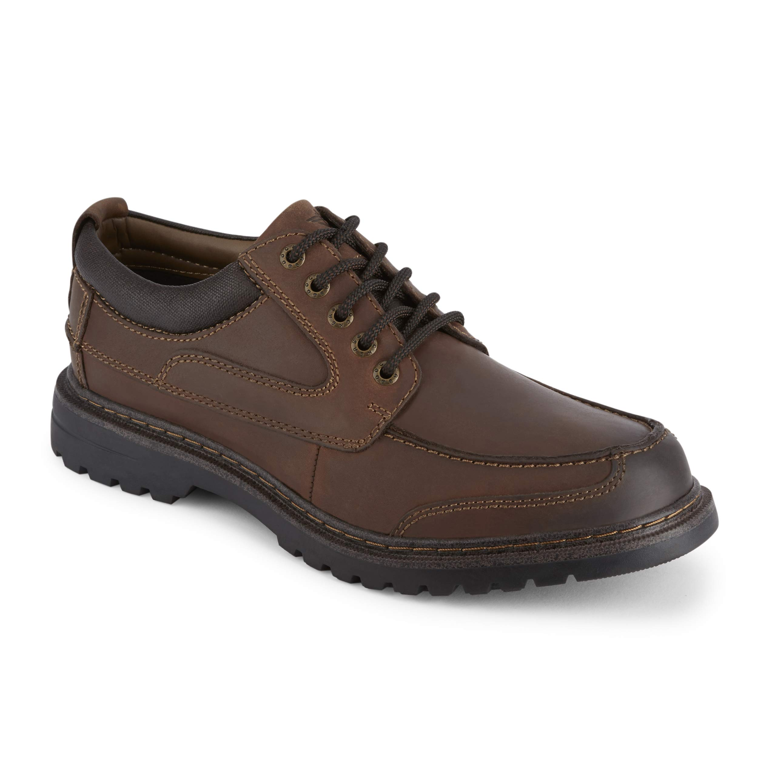 Dockers Men's Overton NeverWet Oxford Shoes, Red Brown - 10 W by Dockers