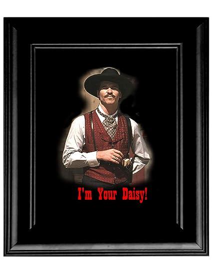 Amazon.com: Artist Peter Nowell 16 x 20 Framed Tombstone Doc ...